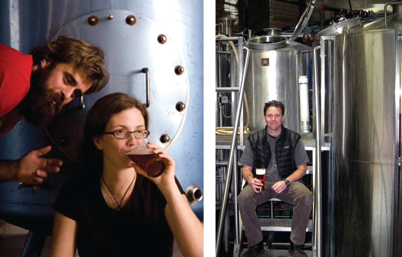 David Merritt and Jaime Tenny from COAST Brewing Company in South Carolina.