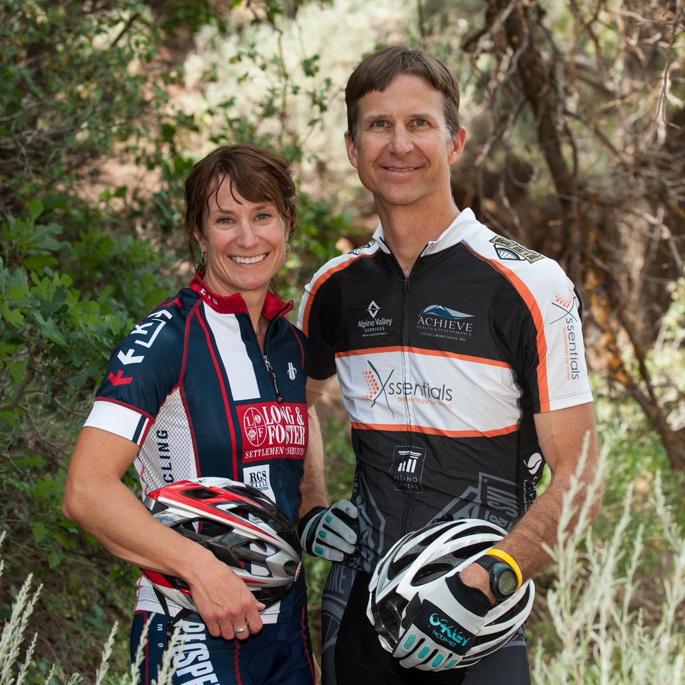 Marcey Robinson & Dr. David Borchers