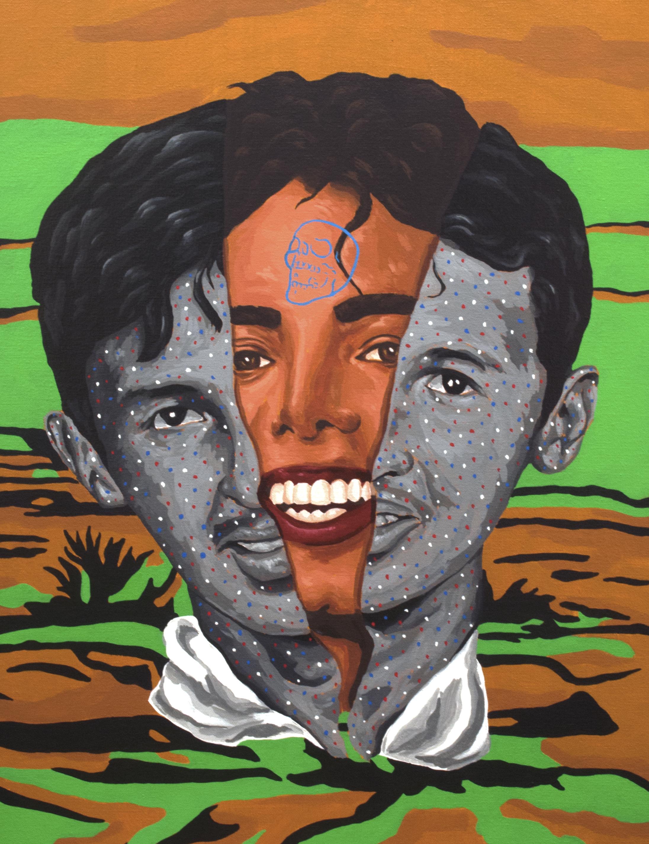 Cholo Jackson Mural Study