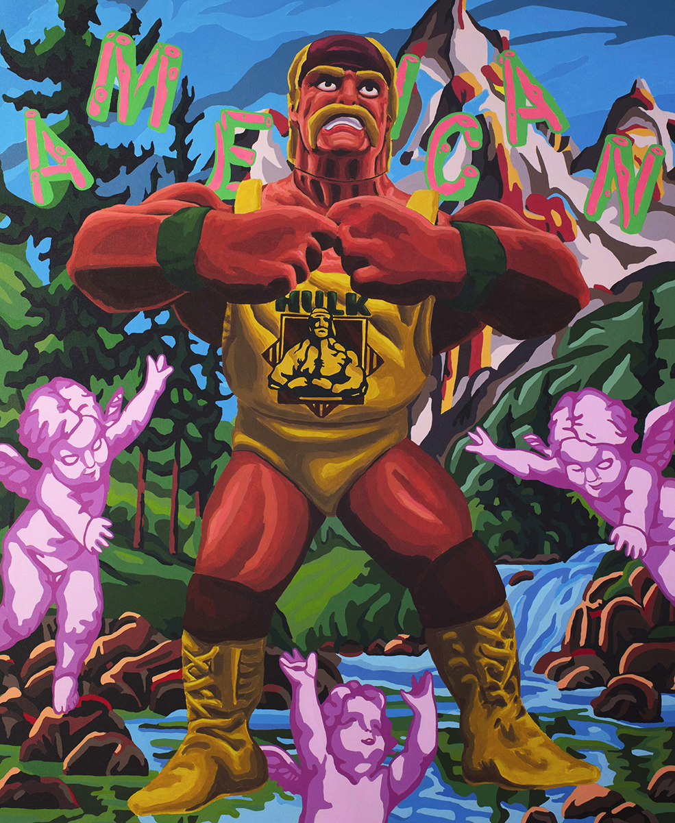 White Nationalist Hulk