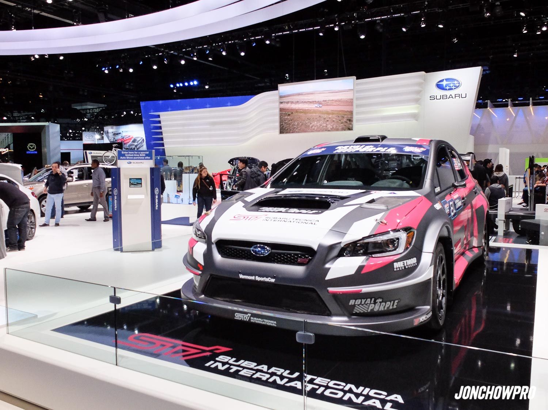 2015 Subaru WRX STi Global Rally Car