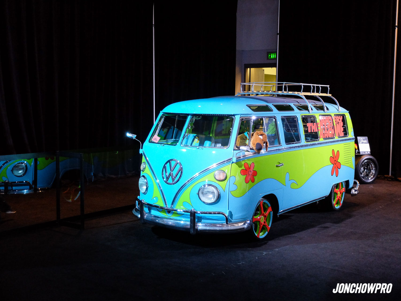 A Volkswagen interpreation of the Mystery Machine