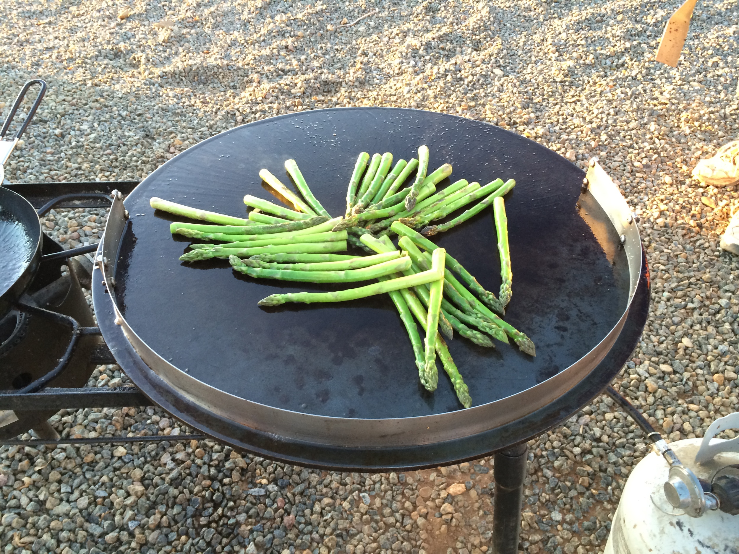 Now We Lay down the Asparagus