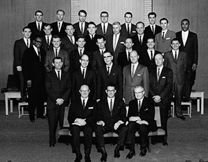 Our first graduating class in 1967.
