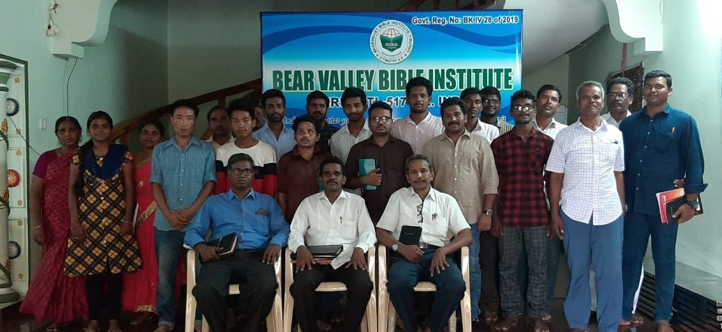 India — International Schools News — Bear Valley Bible Institute