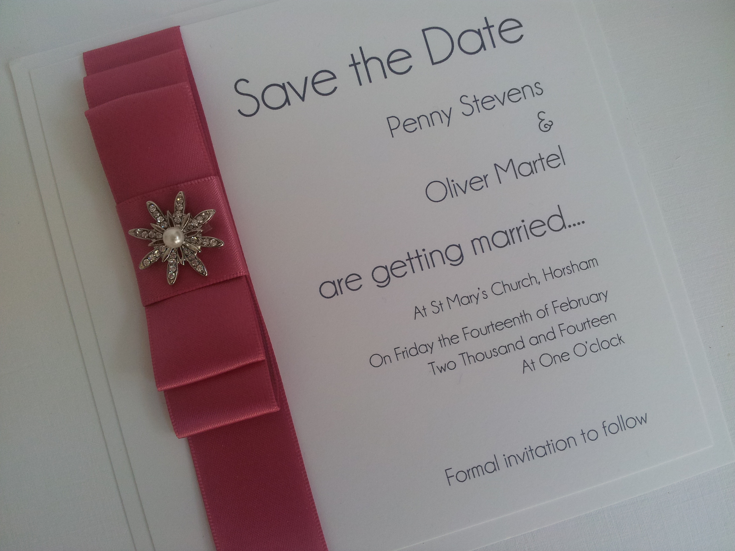 Save the Date (flat)