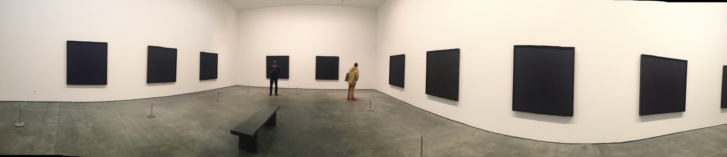 Exhibition Image, Ad Reinhardt, David Zwirner, New York Photo Credit: Cincala ArtAdvisory