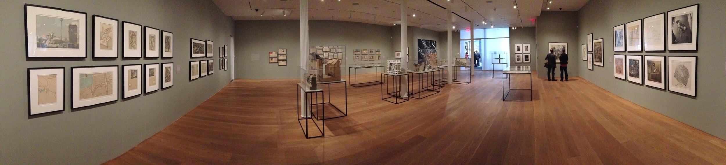 Exhibition Image, Lebbeus Woods, Architect, The Drawing Center, New York Photo Credit: Cincala Art Advisory