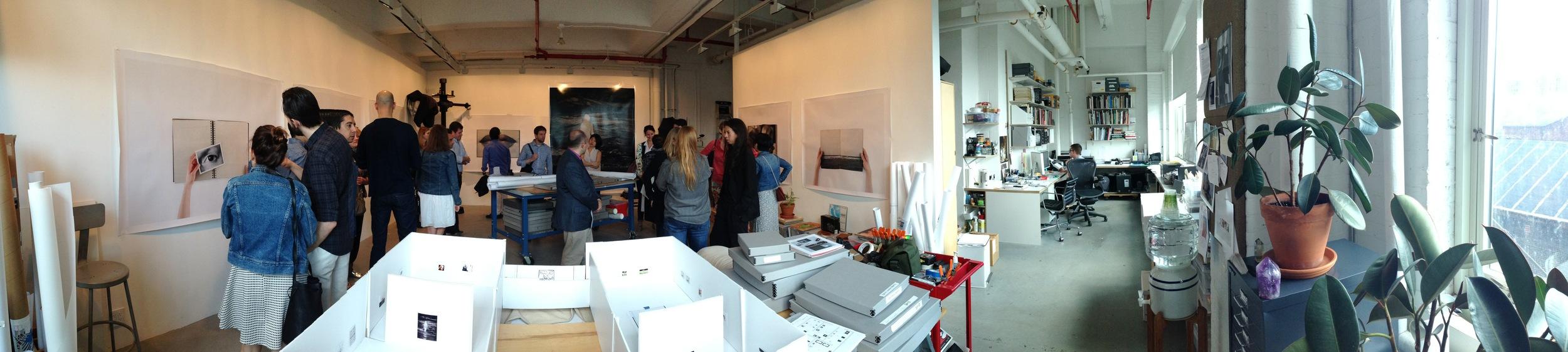 Anne Collier Studio, Brooklyn Navy Yards Photo Credit: Cincala Art Advisory