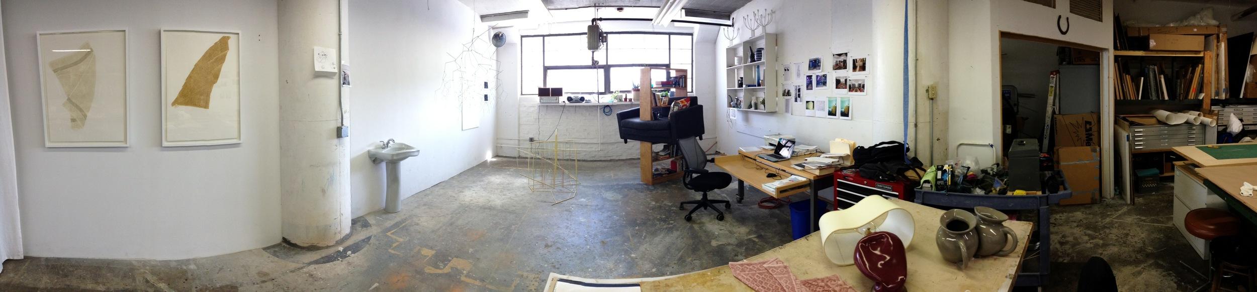 Beth Campbell Studio, Brooklyn Navy Yards Photo Credit: Cincala Art Advisory