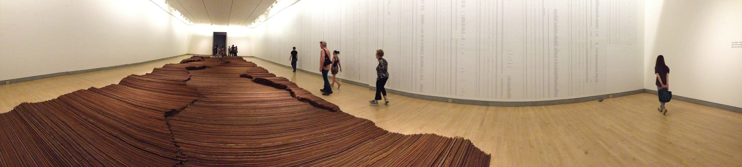 Exhibition Image, According to What?, Ai Weiwei at the Brooklyn Museum Photo Credit: Cincala Art Advisory