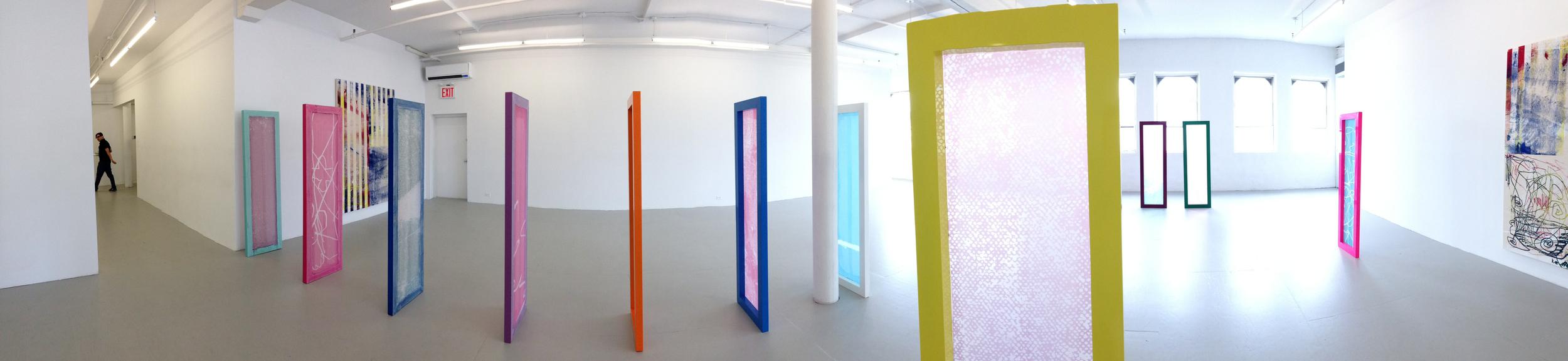 Exhibition Image, Israel Lund  , David Lewis Gallery, New York Photo Credit: Cincala Art Advisory