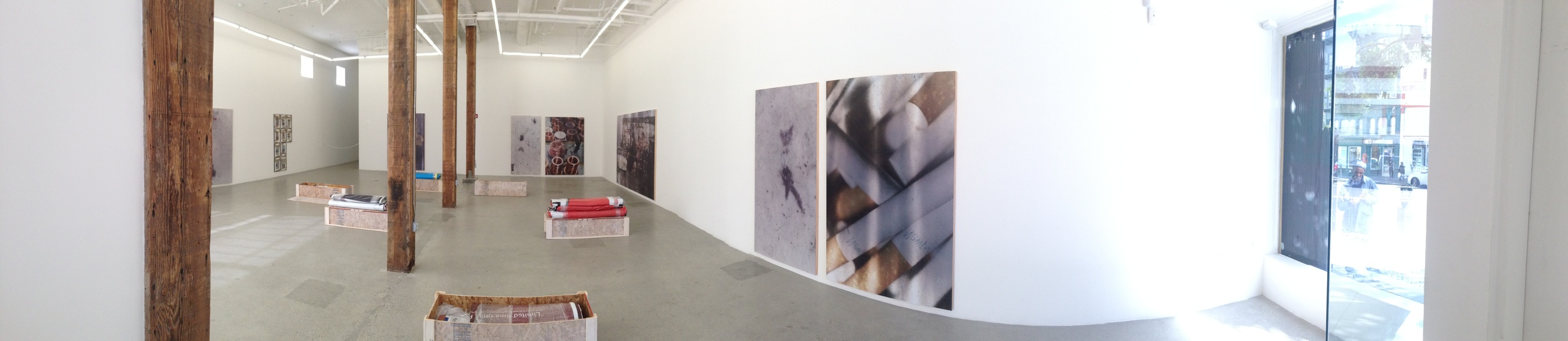 Exhibition Image,  Hugh Scott-Douglas: Promises to Pay in Solid Substance ,  Jessica Silverman Gallery, San Francisco. Photo Credit: Cincala Art Advisory