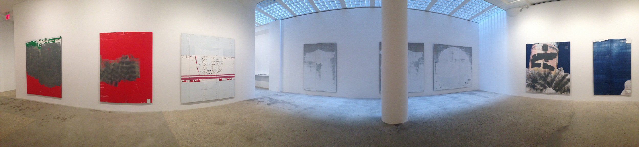 Exhibition Images, Gedi Sibony , Greene Naftali Gallery, New York. Photo Credits:Cincala Art Advisory