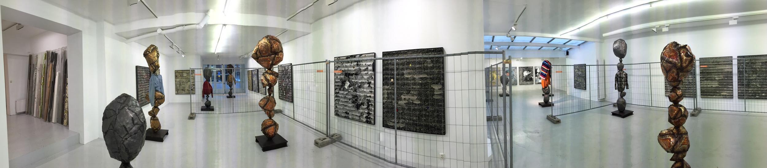 Exhibition Images, Nick van Woert, Hunky Dory Honky Tonk , Grimm Gallery, Amsterdam. Photo Credit:Cincala Art Advisory