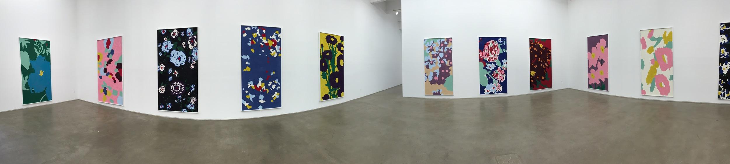 Exhibition Image,  Matthew Chambers  , Zach Feuer Gallery, New York.   Photo Credit:Cincala Art Advisory