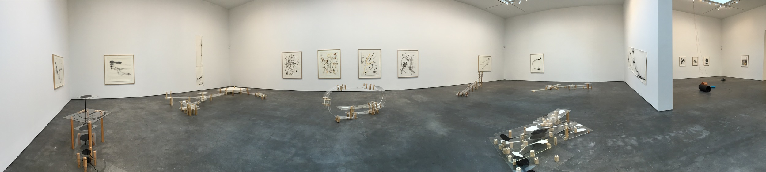 Exhibition Image,  Al Taylor:Pet Stains, Puddles and Full Gospel Neckless (sic) ,David Zwirner, New York. Photo Credit:Cincala Art Advisory