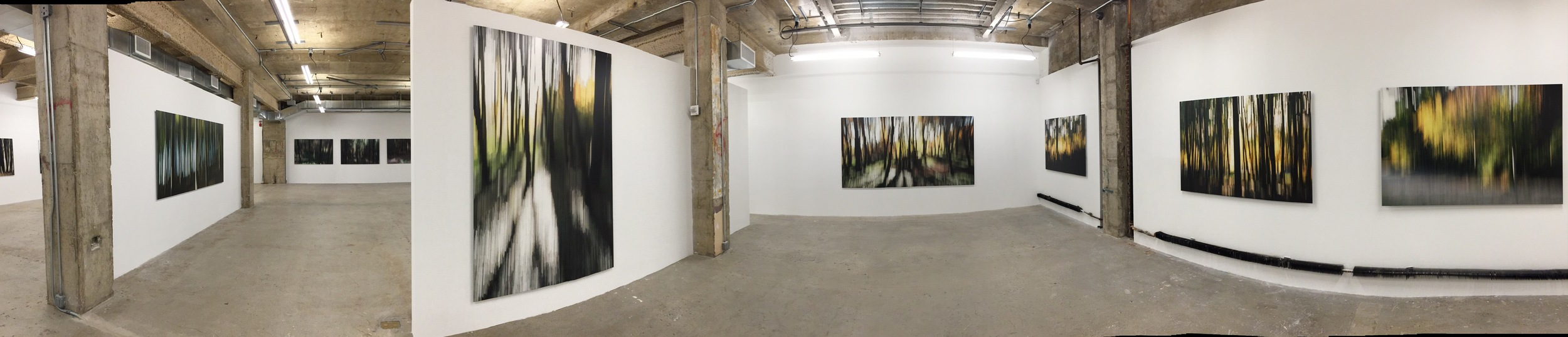 Exhibition Image, Charles March,  WOOD LAND,  Venus Over Manhattan, New York. Photo Credit: Cincala Art Advisory