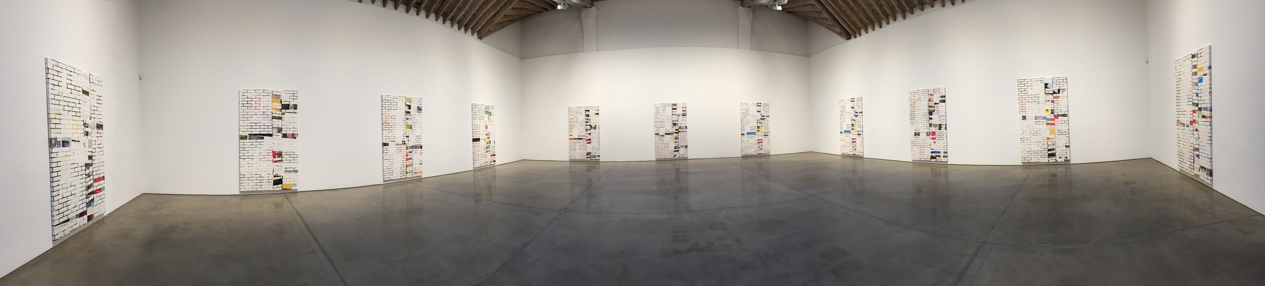 Exhibition Image,  Kelley Walker  ,  Paula Cooper Gallery, New York Photo Credit: Cincala Art Advisory