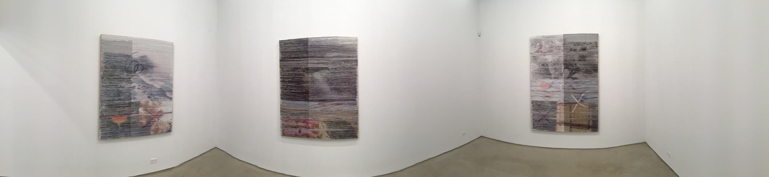 Exhibition Image,  Margo Wolowiec, Corrections and Exposures,  Lisa Cooley, New York Photo Credit: Cincala Art Advisory