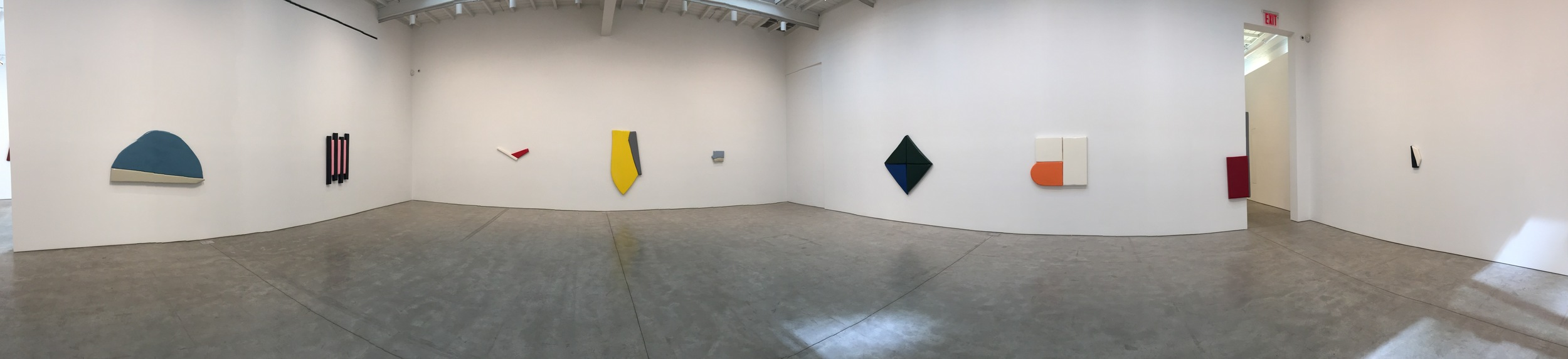 Exhibition Image, Justin Adian,  Fort Worth , Skarstedt Gallery, New York Photo Credit: Cincala Art Advisory