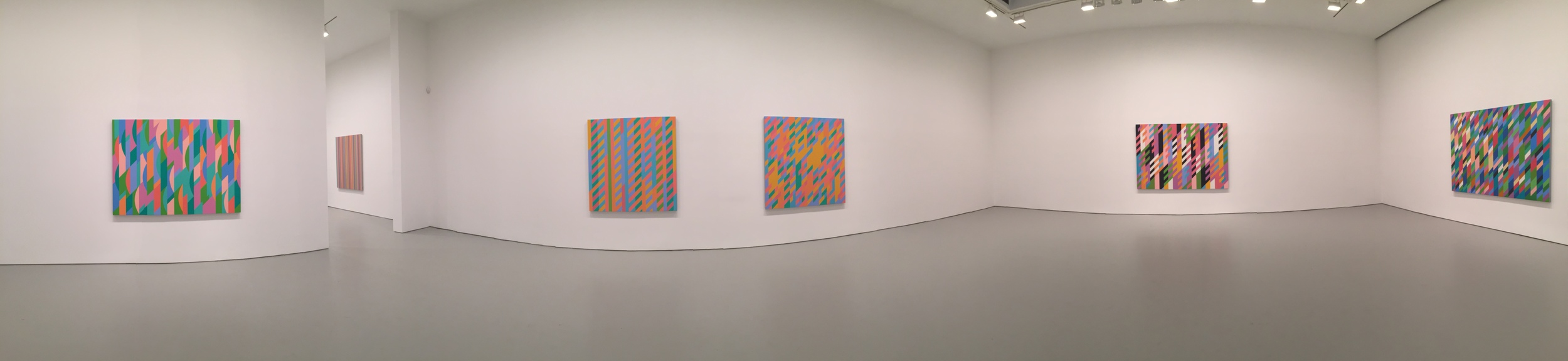 Exhibition Image, Bridget Riley, David Zwirner, New York Photo Credit: Cincala Art Advisory