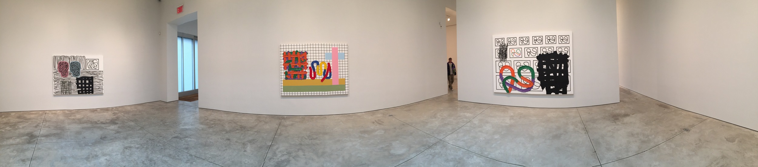 Exhibition Image, Jonathan Lasker, Cheim & Reid, New York   Photo Credit: Cincala Art Advisory