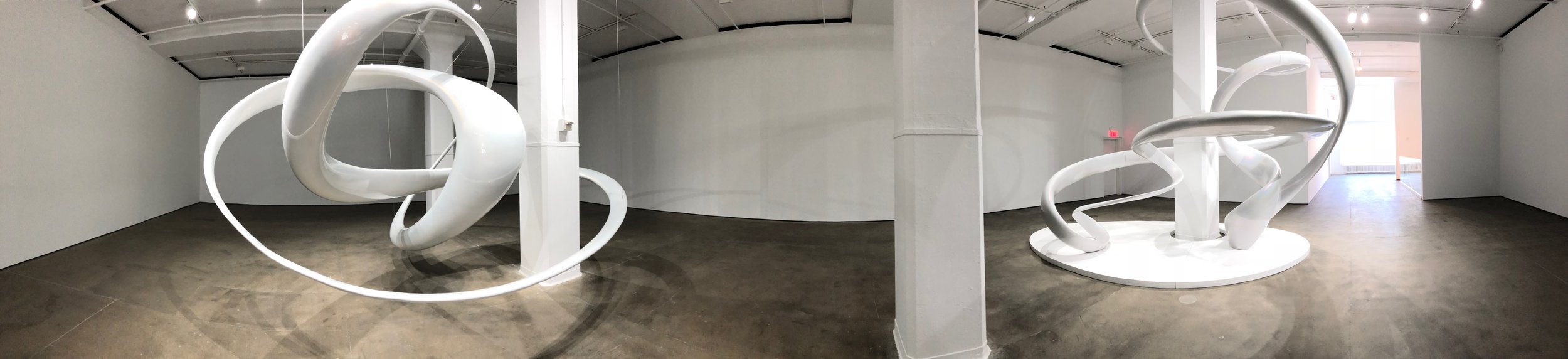 Installation image,  Mariko Mori: Invisible Dimension , Sean Kelly Gallery, New York Photo Credit: Cincala Art Advisory