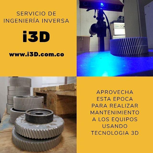 Soluciones industriales a tu alcance. Asesoría completamente gratis!! Contactenos  www.i3d.com.co +57 3104440113