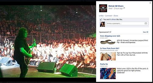 Follow  Metal All Stars on facebook  for the latest news and info on this exciting tour as it happens.