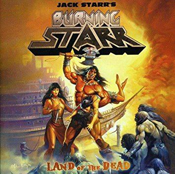 Jack Starr's Burning Starr - Land of the Dead2011Guest Guitar on one song