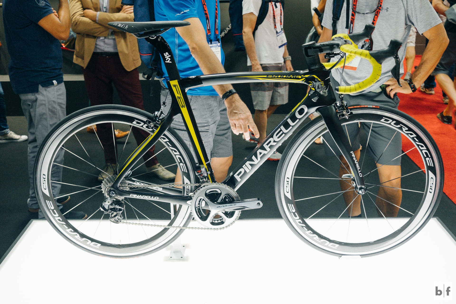 You can't top the Wiggo bike but i felt compelled to take a photo of Froome's TdF winning ride.