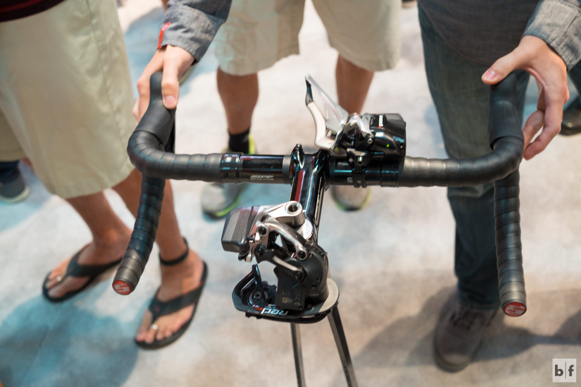 i've been waiting and waiting and when it was announced at eurobike i jumped for joy. being able to try it out and talk to the SRAM staff confirmed all the marketing and press i'd read. this is going to be a really awesome product and i can't wait to upgrade in 2016!