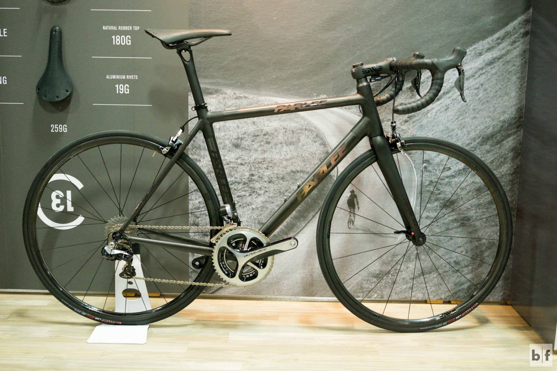 """at first i thought, """"cool, a parlee!"""" then the light hit just right and i saw the logos are reflective. """"damn!"""" was my reaction."""