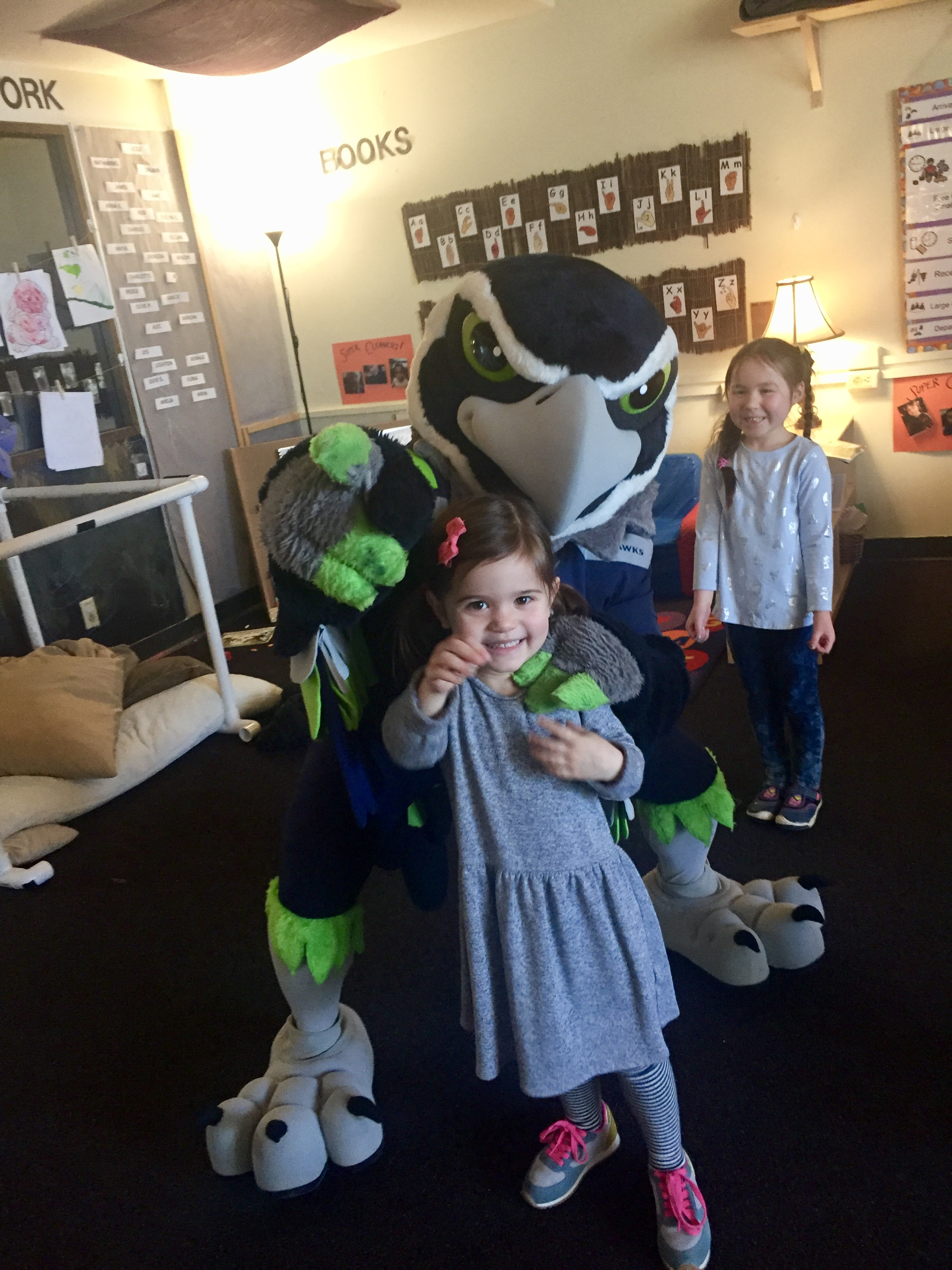 SURPRISE - I saw you could have Blitz come and give your special person a surprise valentine and well, it sounded like a silly thing to do. It was. But oh so worth it. Especially when Blitz visited the girl's classroom. Cue kids going crazy. Well worth every cent.