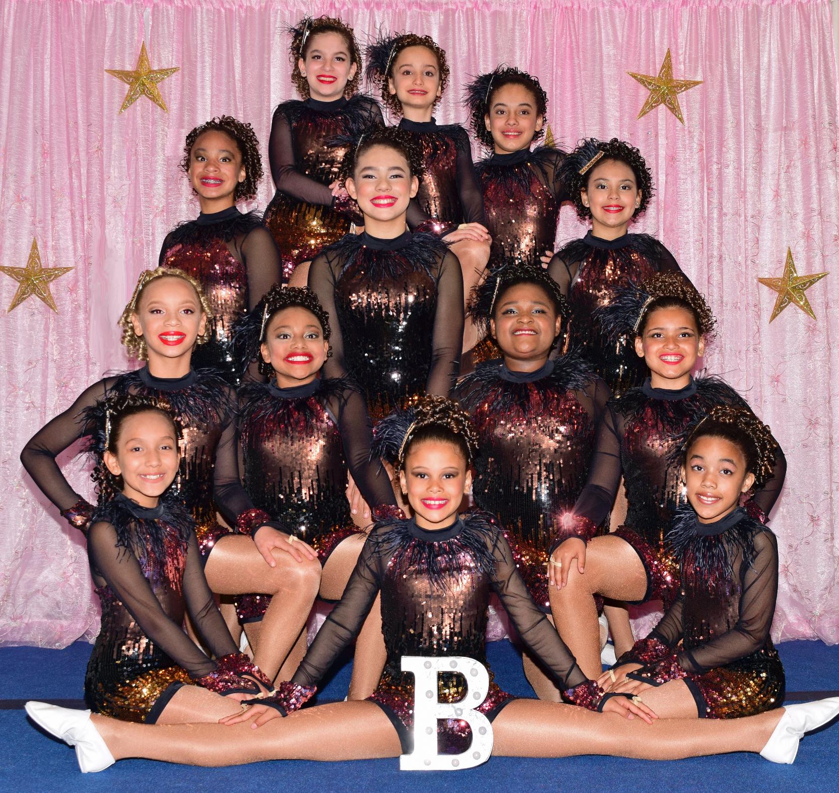 """""""Company B Gymnastics"""" 2018"""