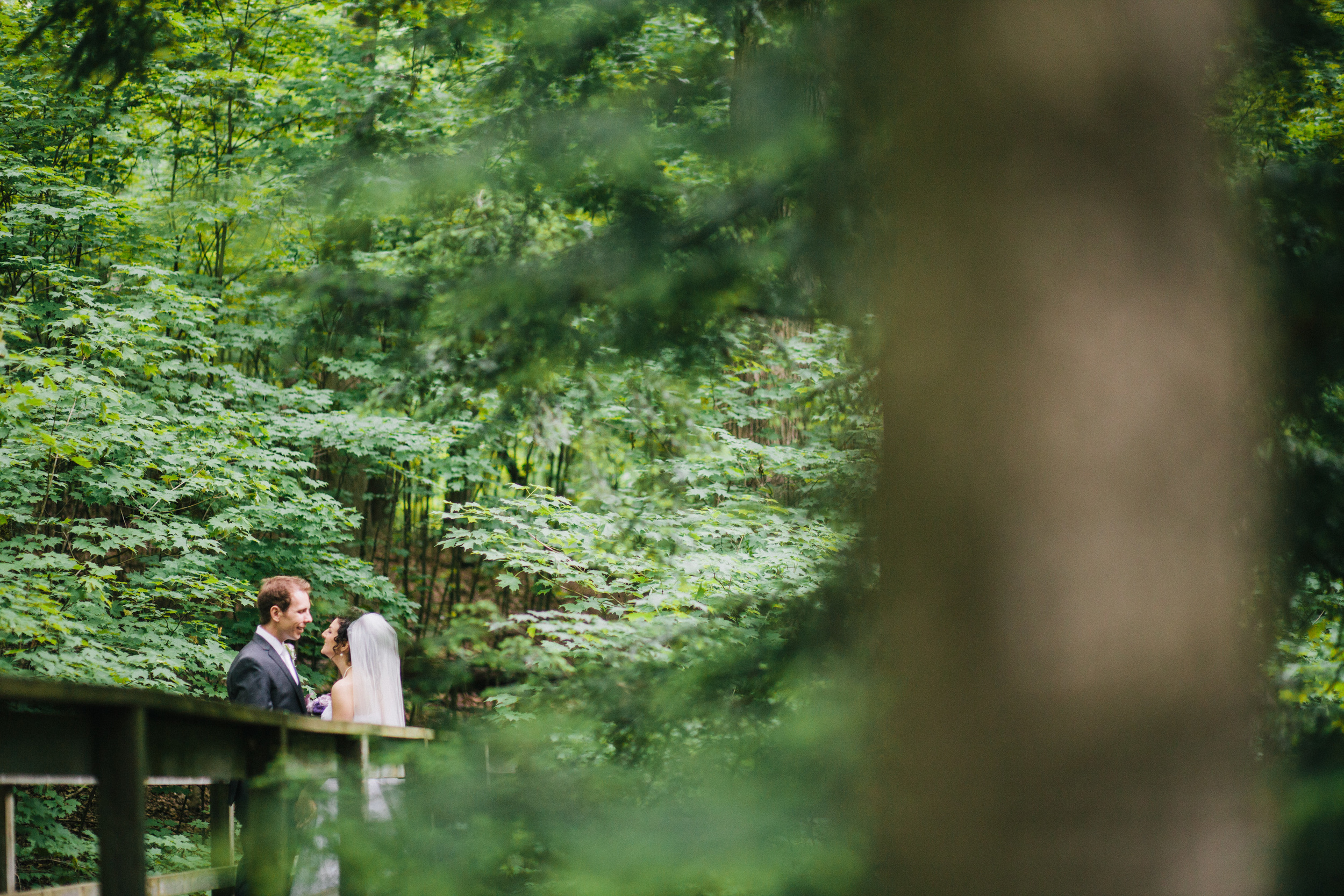 Michelle + Lee Kortright Centre Wedding