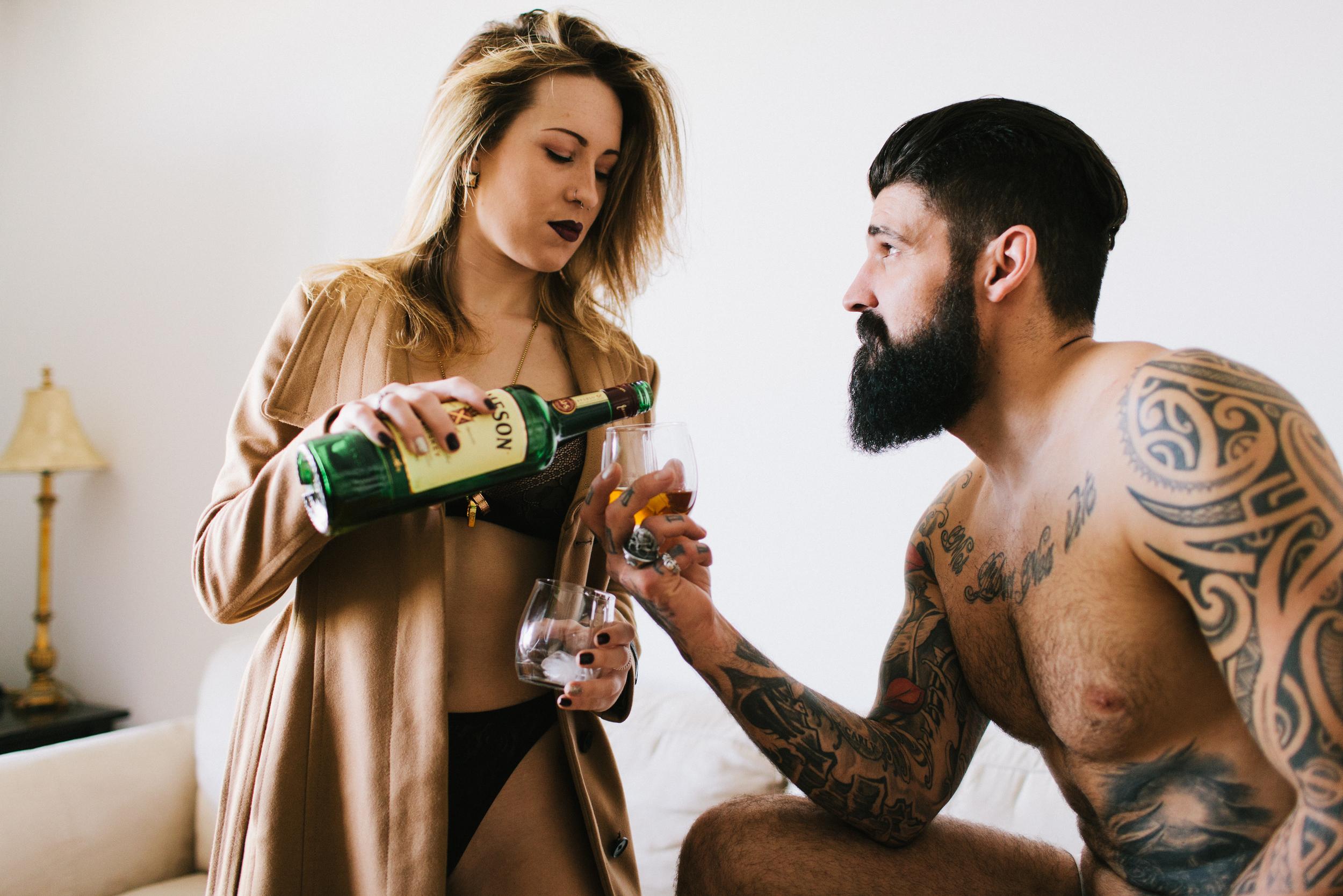 Couples Boudoir