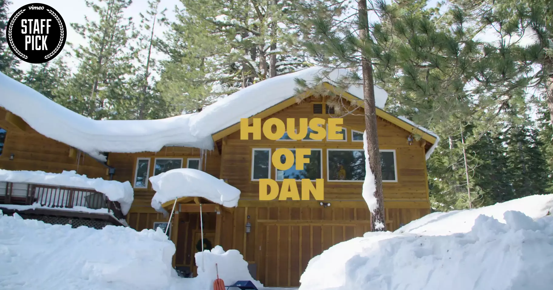 First Vimeo Staff Pick with House of Dan 2017