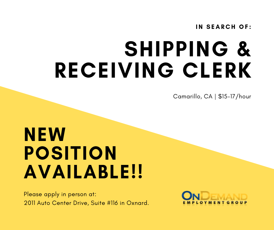 2019.06.24 Shipping Clerk.png