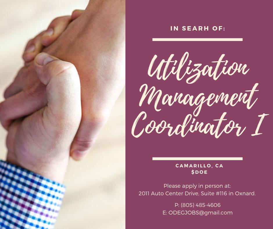 2019.09.24 Utilization Management Coordinator I.png