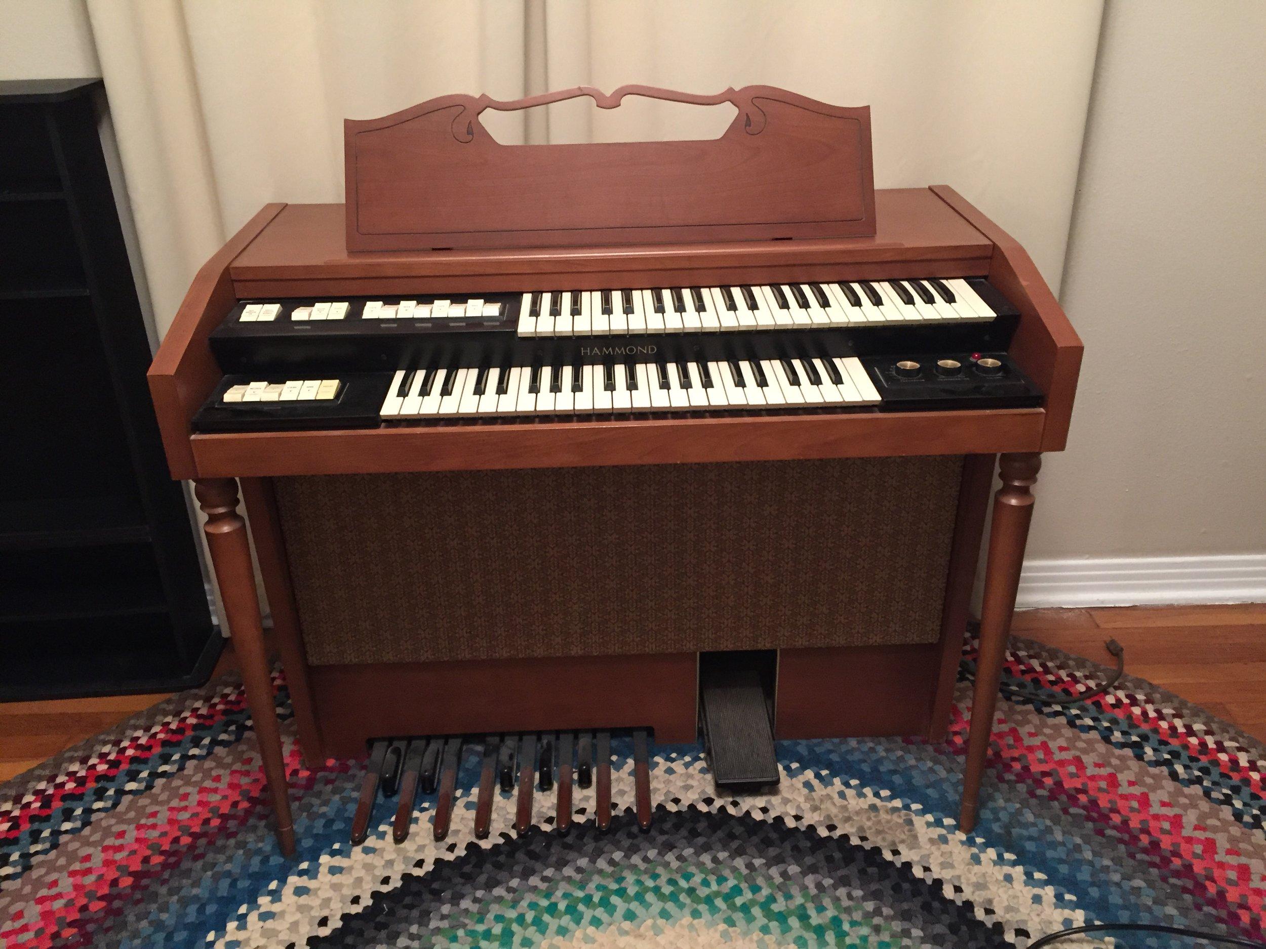 The Organ Circa 2015-2016 during recording of RESCUE