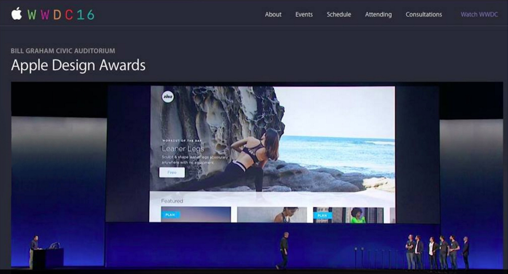 Zova wins Apple Design Award at Apple's 2016 Worldwide Developers Conference in San Francisco