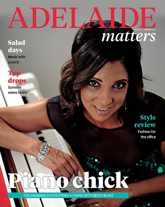 The Piano Chick interview in Adelaide Matters, 28th January,2014. Full Article: