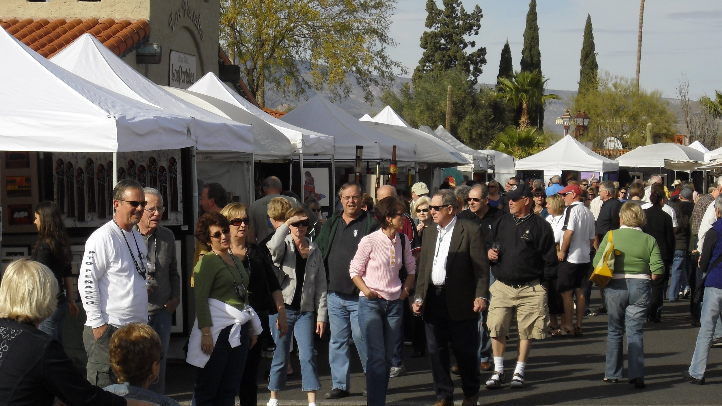 Carefree Fine Art & Wine Festivals: November, January & March