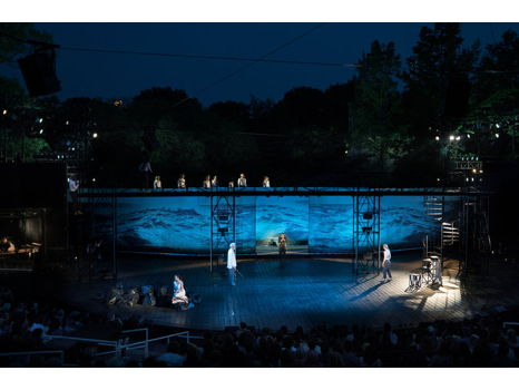 Two Tickets to See Shakespeare in the Park Performance