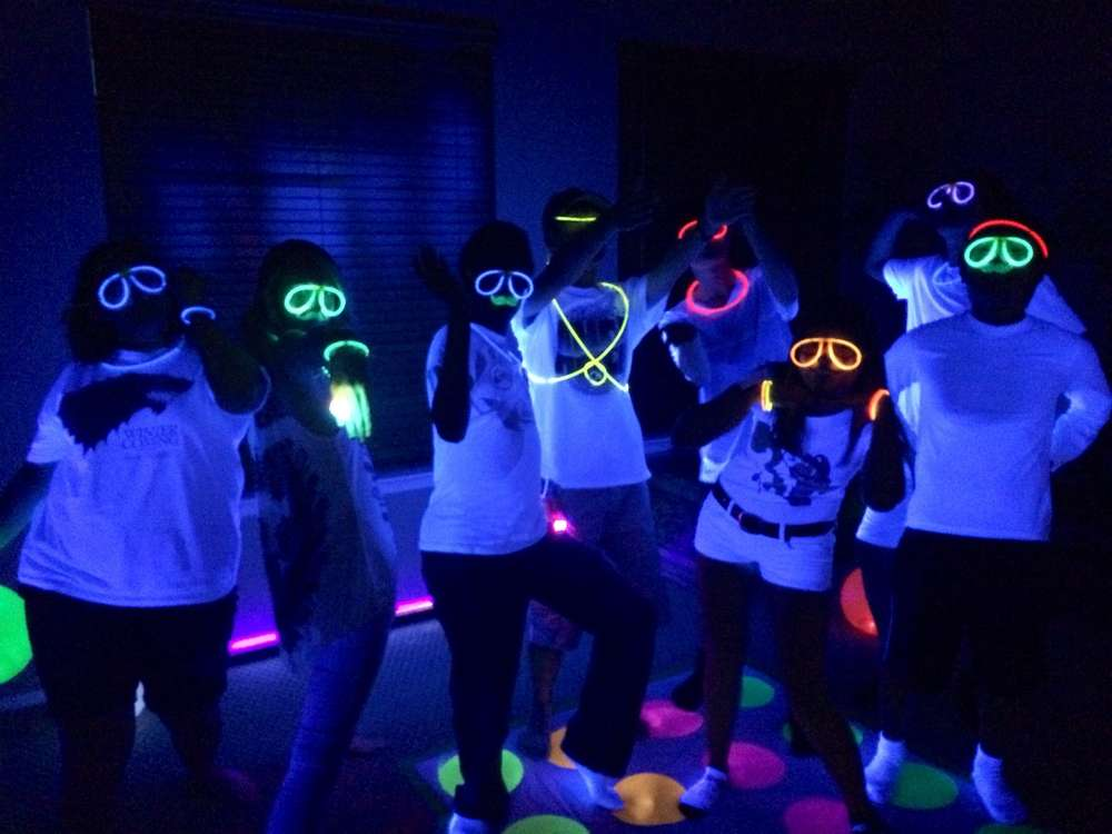 Glow Party at Blue School