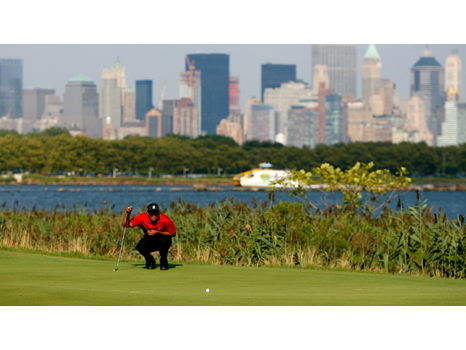 Round of Golf for Three at Stunning Liberty National Golf Club