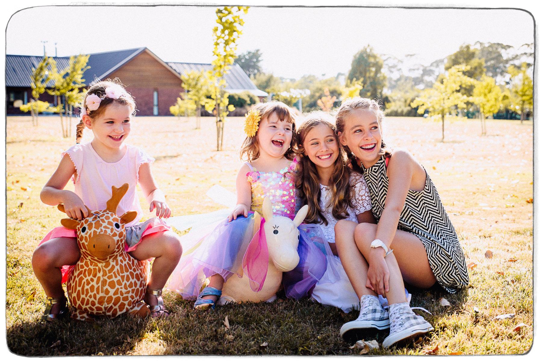 Wairarapa Children's Birthday Party Photography