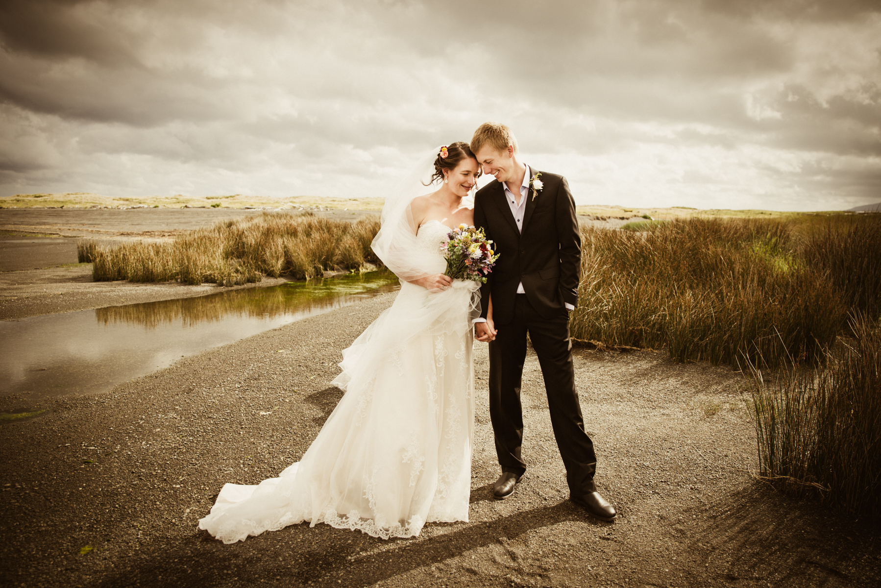 Wedding at the Onoke Spit, Wairarapa# Wedding Photographer Wairarapa